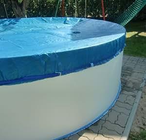 5 00m poolabdeckung abdeckplane abdeckung schwimmbecken for Garten pool abdeckung