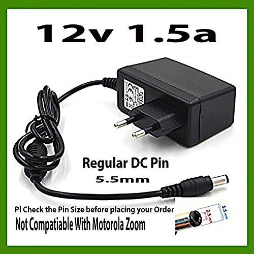 NIRMALS 12V 1.5AMP DC SMPS POWER SUPPLY For LED Strip Light, CAMERAS 12V 1.5A (12V 1.5A) (BLACK) … (BLACK)  available at amazon for Rs.450
