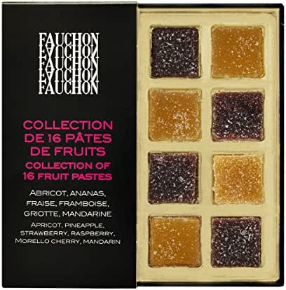 Fauchon - Collection de 16 pâtes de fruits