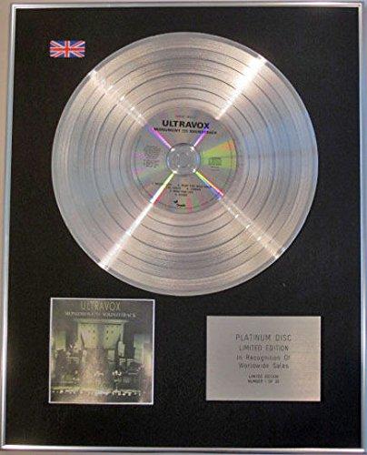 ULTRAVOX Limited Edition CD-Platinum, MONUMENT -