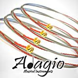 Adagio Flatwound Electric Bass Guitar Strings 45-100