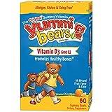 Hero Nutritional Products Nounours en gélatine source de Vitamine D3 (60 Nounours)