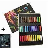 36 Farben Haarkreide Set für temporäres Haarefärben
