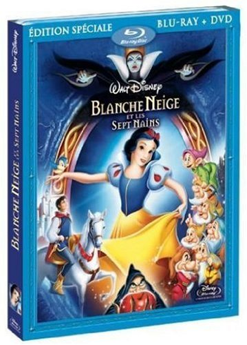 Blanche Neige et les sept nains [Combo Blu-ray + DVD]