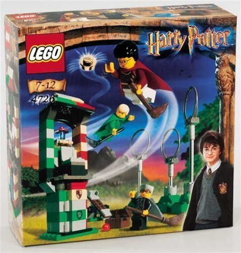 Lego Harry Potter 4726 - Scene Terrain de quidditch