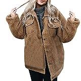 TianWlio Mäntel Frauen Weihnachten Damen Mantel Langarm Strickjacke Jacke Outwear Herbst Winter Taste Langarm Pullover Bluse Offene Front Jacke Mantel Oberbekleidung