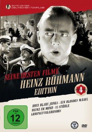 Heinz Rühmann Edition [4 DVDs] (Stühle-paket)