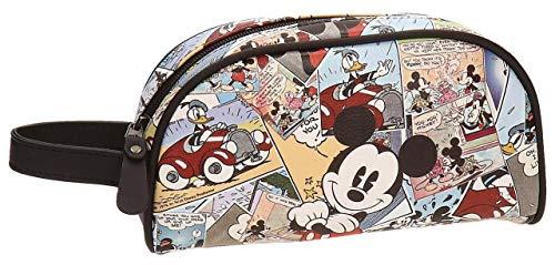 Disney Mickey Comic Neceser de Viaje, 26.78 litros, Color