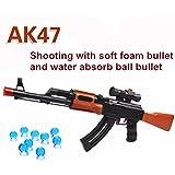 polade 2en 1pistola de disparo de AK47juguetes espuma Dardos y agua polímero bola