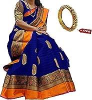 Kanchan Silk Saree With Blouse Piece