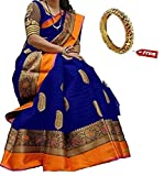#4: Kanchan Silk Saree With Blouse Piece