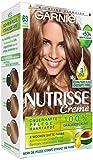 Garnier Nutrisse Creme Coloration Dunkles Goldblond 63, Färbung für Haare für...