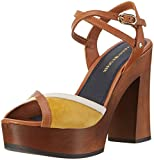 Tommy Hilfiger Women's P1285aige 1c Wedge Heels Sandals