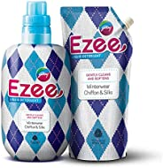 Godrej Ezee Liquid Detergent - Winterwear, Chiffon & Silks 2kgs (1 bottle + 1 ref