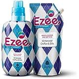Godrej Ezee Liquid Detergent - Winterwear, Chiffon & Silks 2kgs (1 bottle + 1 refill)