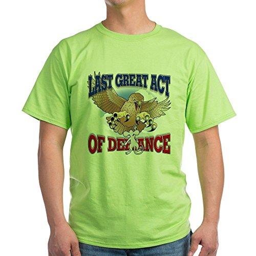 CafePress Last Great Act of Defiance-T-Shirt Aus 100% Baumwolle Gr. Medium, Grün -
