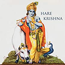 Hare Krishna: 150-page Blank Writing Diary with Hindu Deity Krishna 8.5 x 8.5 Square (Grey): Volume 2 (Symbology Series of Writing Journals)