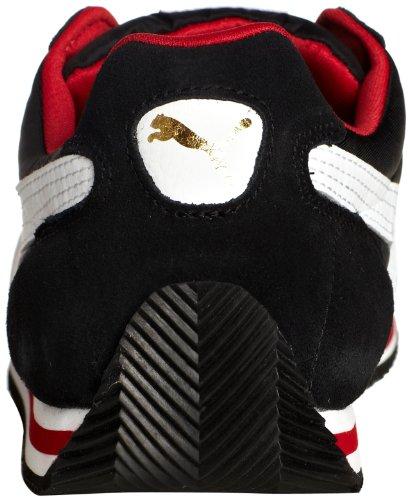 Puma Fieldsprint 354626 Unisex-Erwachsene Sneaker Schwarz (black-white-ribbon red 02)