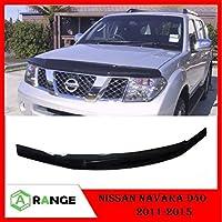 Arange Nissan NAVARA D40 2011-15 Bonnet Scudo Protector Bug Guard Negro * * UK