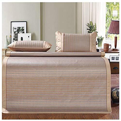 Dream catcher Mattresses Cooling Bedding Bamboo Sleeping Mats Summer Bedroom Foldable 3 Pieces Set 2 Styles (Bamboo Dream Catcher)