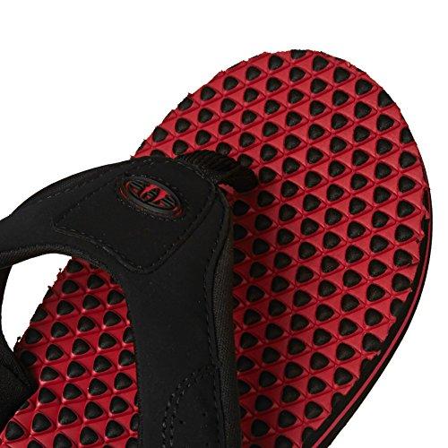 Animal Jekyl infradito, superficie increspata, colore: rosso brillante rosso  - rosso