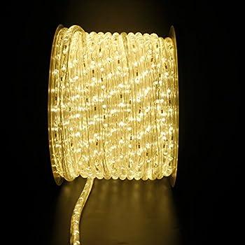 Led Lichterschlauch Lichtschlauch Lichterkette Licht Leiste 36ledsm Schlauch Für Innen Und Außen Ip44 30m Warmweiß 1
