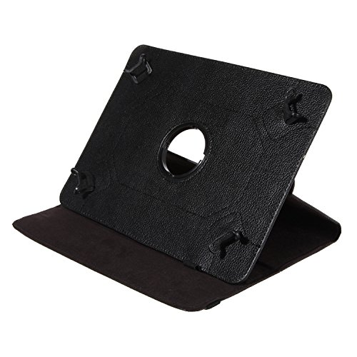BRALEXX Universal Rotation Tasche passend für TrekStor Odys Prestigio Samsung Medion Lenovo i.onic Archos Acer Apple Schwarz
