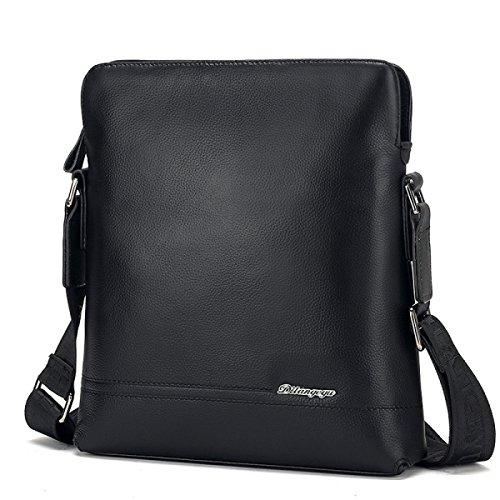 Männer Rindsleder Koreanisch Mode Messenger Bag Business Umhängetasche Leder Männliche Tasche Beiläufige Tasche H
