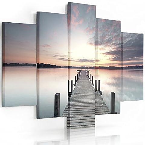 Tableau 100 200 - Feeby Frames, Tableau multi panneau 5 parties,