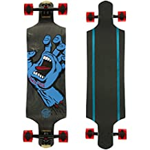 Santa Cruz Longboard Screaming Hand microdrop Down, 9,3 x 92,71 cm, SANLOBSCHAMIDD