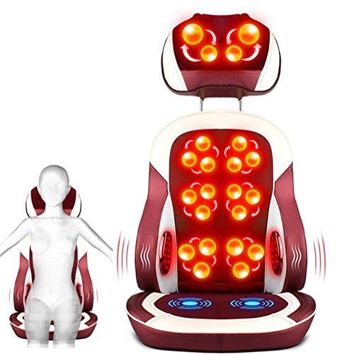 Preisvergleich Produktbild AMYMGLL Multifunktionale Massagekissen Upgrade-Version (Bein, Hüfte, Nacken, Hüfte, Rücken, Fuß) Massage Massagekissen Winkel Folding Abnehmbare freie Einstellung