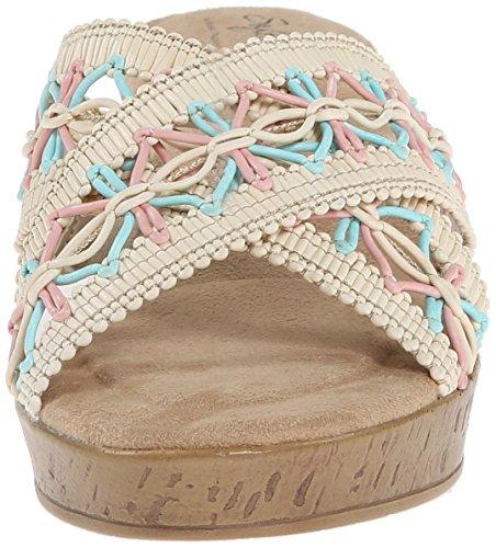 Soft Style von Hush Puppies Jerilyn Kleid Sandale Natural Multi Weave Raffia Polyurethane