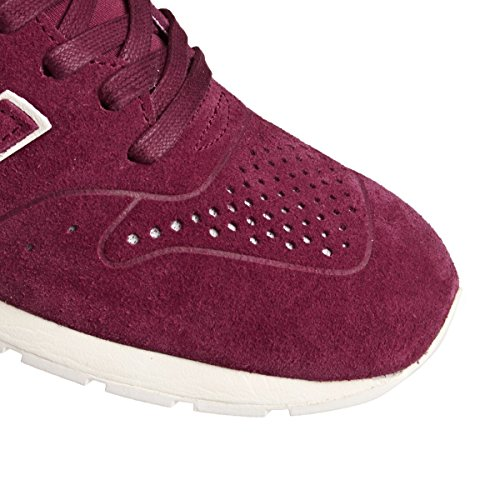 New Balance Herren 996 Leather Sneaker Red