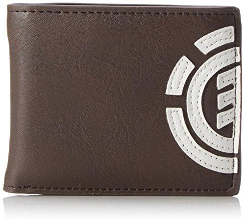 115e077f11 Element Uomo Daily Wallet Portafoglio, 1 x 7 x 9 cm, Marrone (Braun