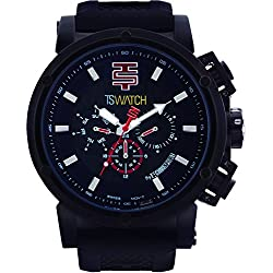 TechnoSport Herren Chrono Uhr - Schwarz