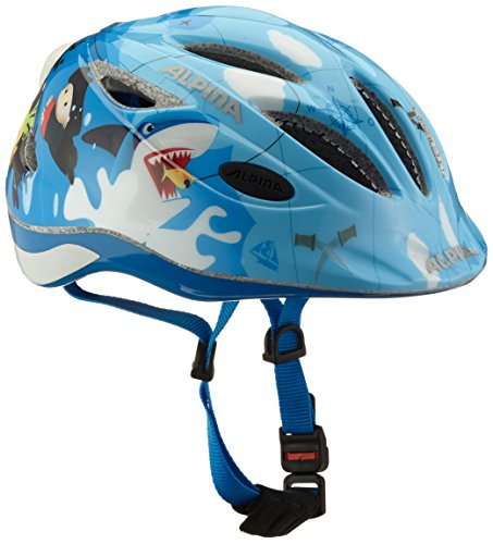 ALPINA Kinder Radhelm Gamma 2.0 Flash, Pirate, 51-56, A9693.1.84