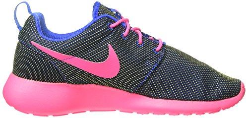 Nike Roshe Run 511882, Damen Laufschuhe Training (Hiper Cobalt/Hyper Pink-Vlt-Blk)