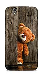 Amez designer printed 3d premium high quality back case cover for Acer Z630S (Cute Taddy Bear)