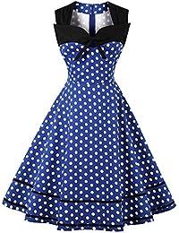 Amazon.it  vestiti anni 50 - Ultima settimana   Donna  Abbigliamento 12a29180a05