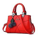 Barwell Damen Handtasche lässig Umhängetasche Taschen Frauen PU-Leder Schultertasche