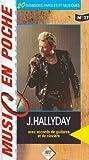 Hallyday avec accords de guitares et de claviers