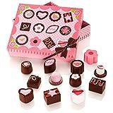 Milly & Ted Scatola di cioccolatini in Legno Set da Gioco per Bambini