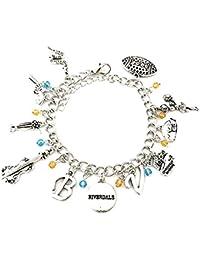 Beaux Bijoux Riverdale Charm Bracelet - Riverdale Inspired Jewellery in Gift Box