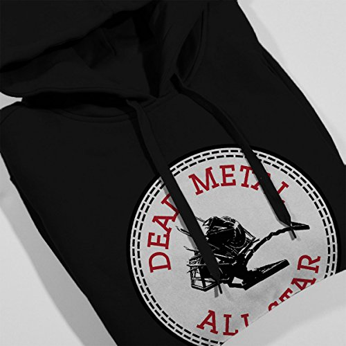 ... Robot Wars Dead Metal All Star Converse Women's Hooded Sweatshirt Black  ...