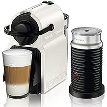 Nespresso Krups Inissia Milk XN 1011-Cafetera de cápsulas, 19 bares, compacta,