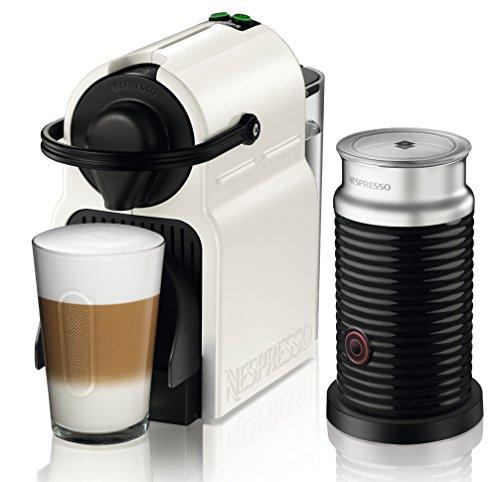 Nespresso Krups Inissia Milk XN 1011-Cafetera de cápsulas, 19 bares, compacta,...