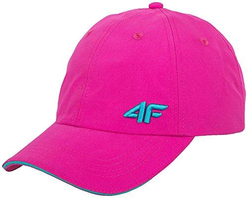 4F Bonnet Casquette, bonnet, casquette de baseball sportcap de Sport, été femme, Cad001SS16 - rose
