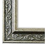 Online Galerie Bingold Bilderrahmen Silber 13x18-13 x 18 cm - Antik, Barock - Alle Größen - Handgefertigt in Deutschland - WRF - Verona 4,4
