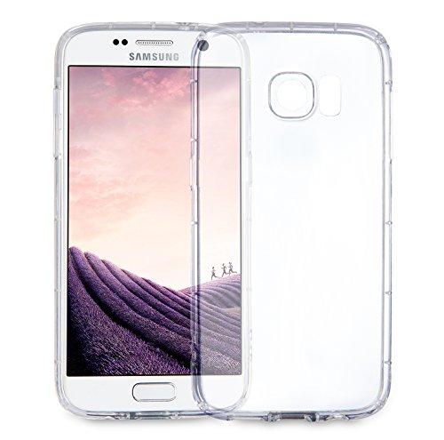 MyGadget Samsung Galaxy S7 Hülle ( 5,1 Zoll ) *ultra dünn* aus Plastik PC in Schutzhülle Cover Case Bumper in Transparent Crystal Case Transparent