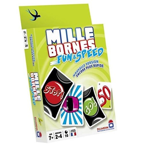 Dujardin - 59047 - Jeu de Cartes - Mille Bornes - Fun et Speed